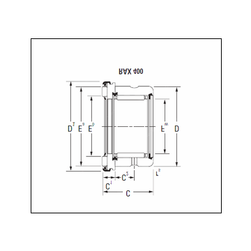 KOYO RAX 445 Complex Bearing