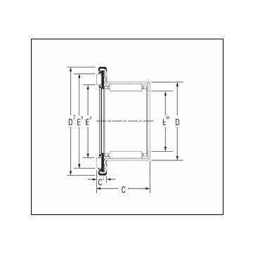 Timken RAX 725 Complex Bearing