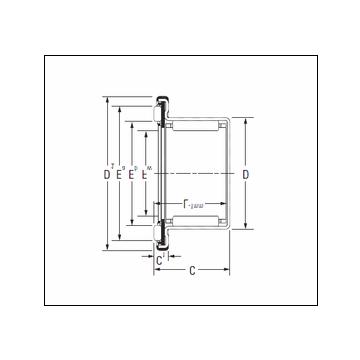 KOYO RAXF 740 Complex Bearing