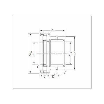 Timken NAXR25Z.TN Complex Bearing