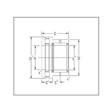 KOYO NAXR15 Complex Bearing