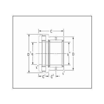 Timken NAXR25TN Complex Bearing