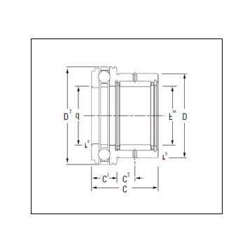 KOYO NAXK25 Complex Bearing
