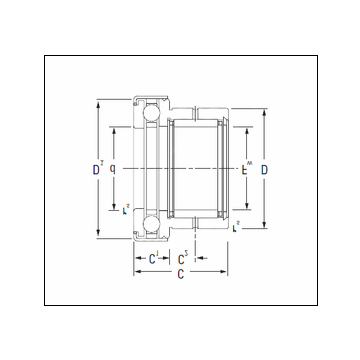 KOYO NAXK12Z Complex Bearing