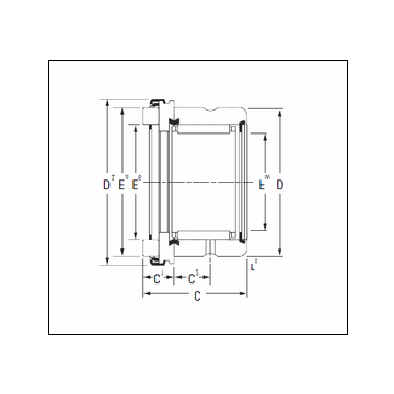 Timken RAX 515 Complex Bearing