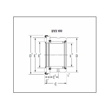 KOYO RAX 425 Complex Bearing