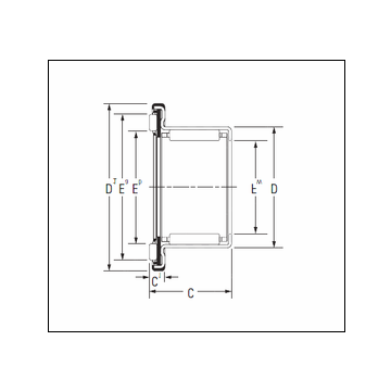 KOYO RAX 745 Complex Bearing