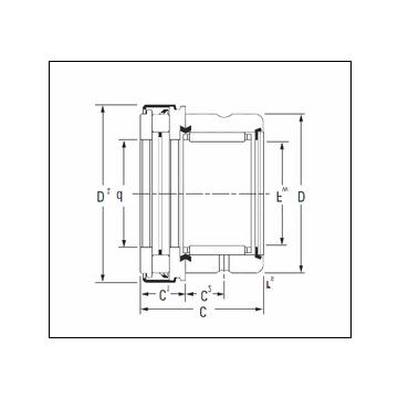 KOYO RAXZ 525 Complex Bearing