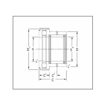 KOYO NAXK45Z Complex Bearing