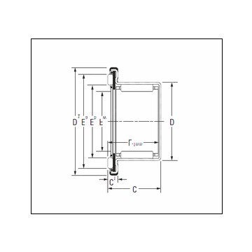KOYO RAXF 714 Complex Bearing #5 image