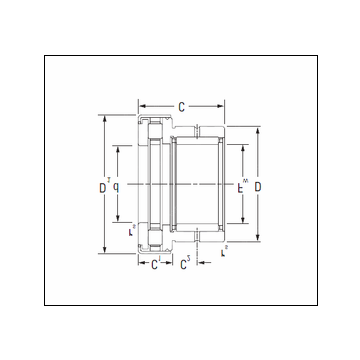 Timken NAXR30Z.TN Complex Bearing #5 image