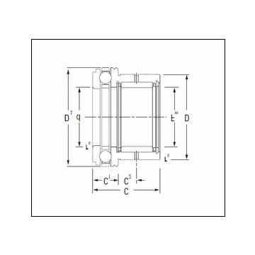 KOYO NAXK10 Complex Bearing #5 image